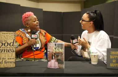 Poet sits down with Sunni and the City for Women Crushing It Wednesday.