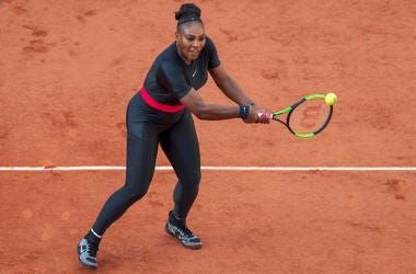 Serena Williams French Open tennis