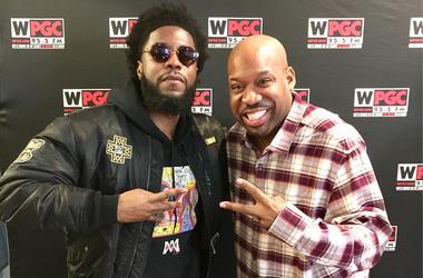 Big K.R.I.T. and DJ Flexx of WPGC