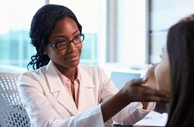 A study shows women are diagnosed later than men for the same disease.