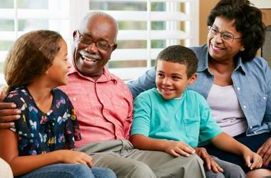 grandparents children families kids