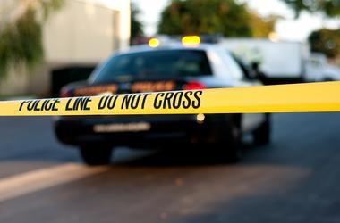 police tape crime cops homicide
