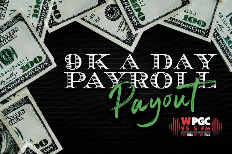 Cash Contest for WPGC-FM