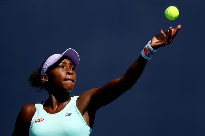 The rising tennis star will be in town for DC's Citi Open.