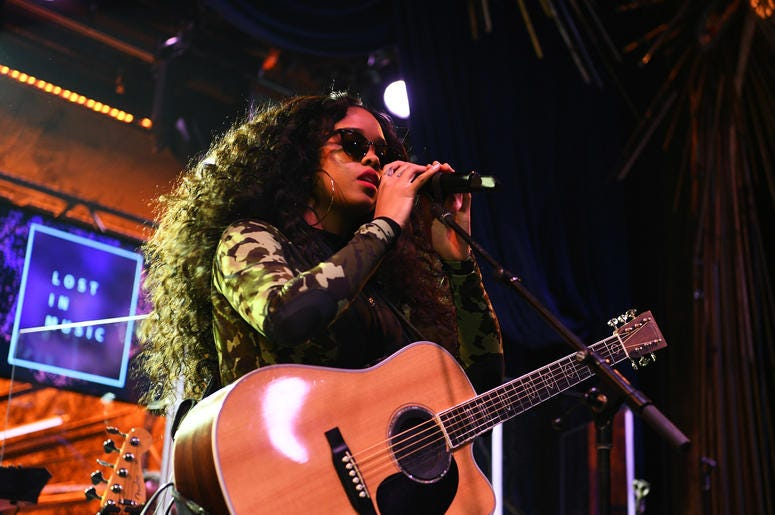 H. E. R. is just one of the many talented artists were celebrating on International Womens Day.
