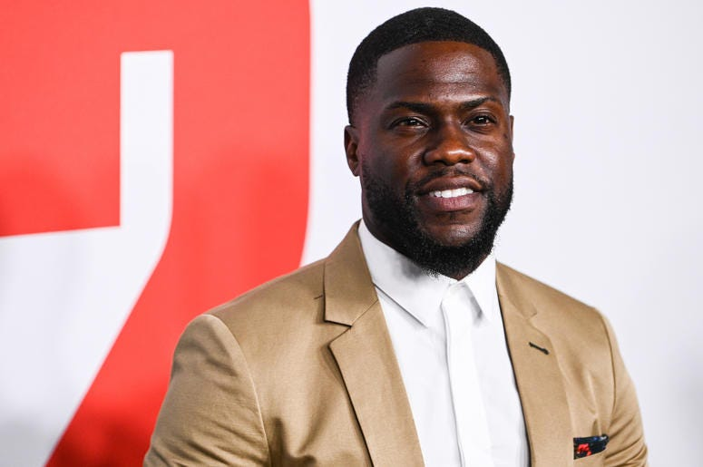 Kevin Hart was involved in a car accident.