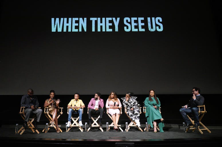 """Fans are upset about """"When They See Us"""" snub by the Golden Globes."""