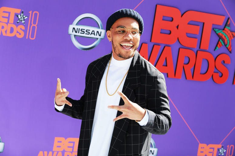 Anderson Paak BET Awards 2018