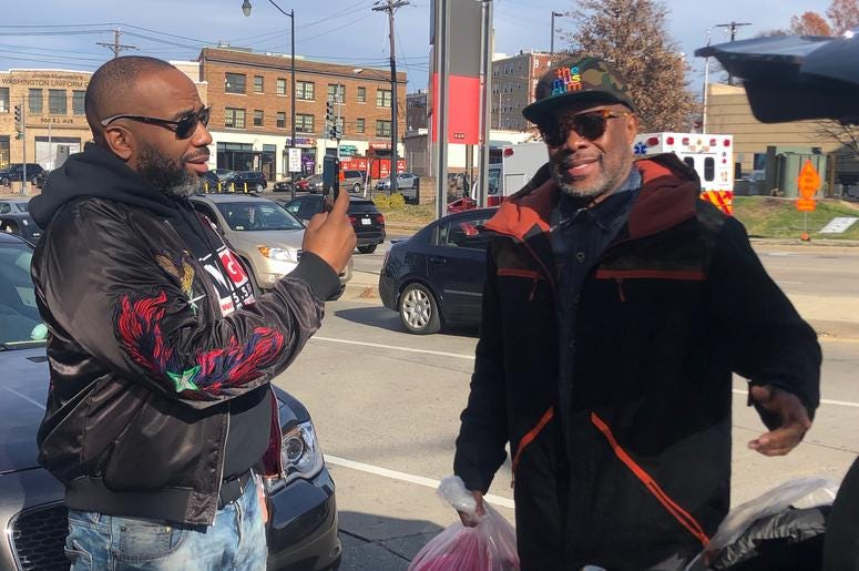 WPGC's Annual Coat Drive at Carolina Kitchen in Southeast D.C.