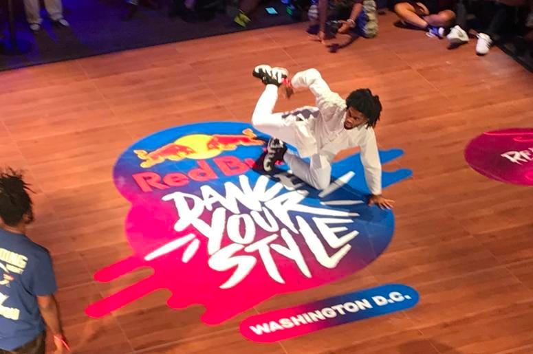 Red Bull Dance Your Style competition allowed dancers from the area to go head to head.