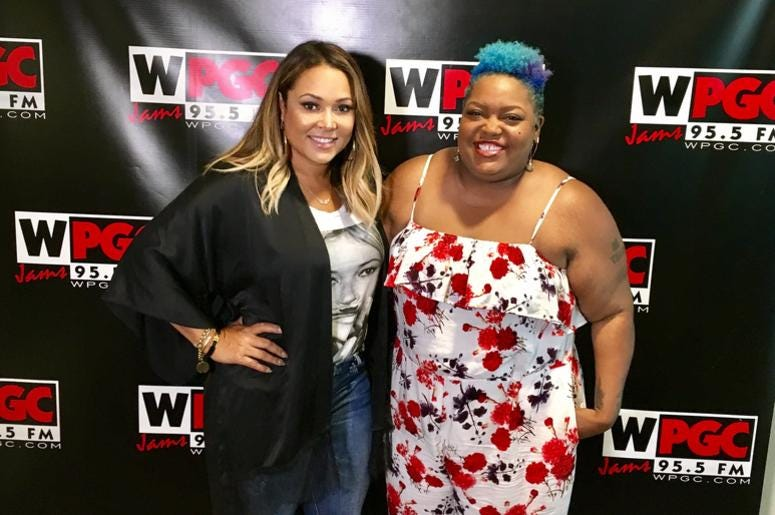 Tamia and Poet Taylor