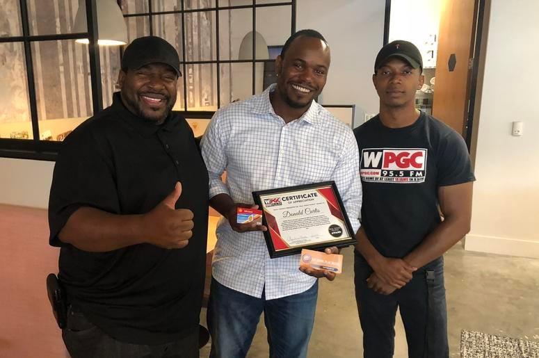 WPGC Shack Real Good People Donald Curtis