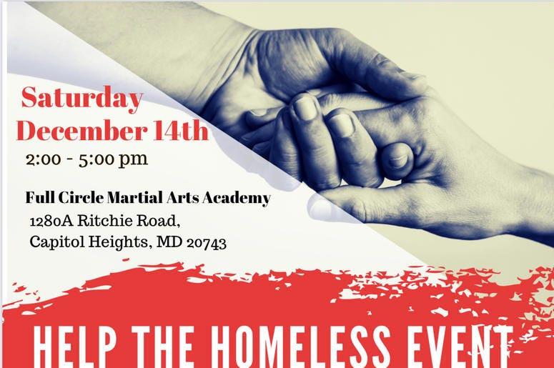 Help The Homeless Flyer