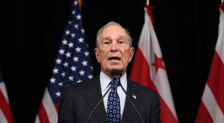 WASHINGTON, DC - JANUARY 30: Democratic presidential candidate, former New York City Mayor Michael Bloomberg speaks about affordable housing during a campaign event where he received an endorsement from District of Columbia Mayor, Muriel Bowser, on Januar