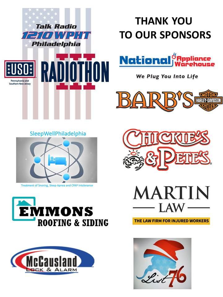USO Radiothon Sponsors