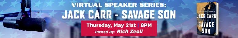 Jack Carr Virtual Speaker Series