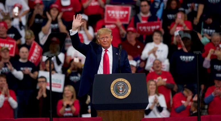 President Trump Rally in Hershey, PA