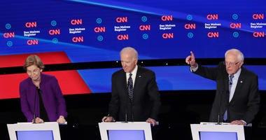 Bernie Sanders Elizabeth Warren Debate