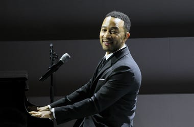 John Legend performs on stage at the WSJ. Magazine 2018 Innovator Awards