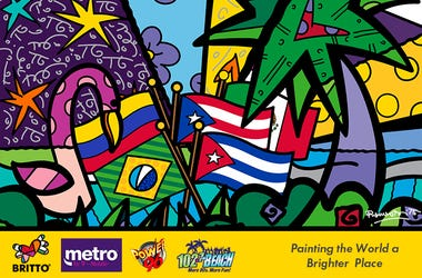 Hispanic Heritage Month with Metro by T-Mobile & BRITTO!