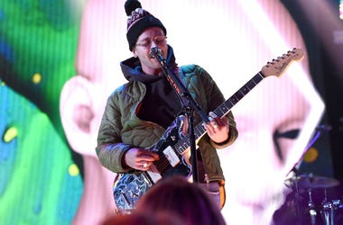 John Gourley of 'Portugal. The Man' performs onstage at Dick Clark's New Year's Rockin' Eve with Ryan Seacrest 2018 on December 31, 2017 in Los Angeles, California