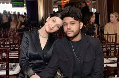The WEEKND AND BELLA BACK