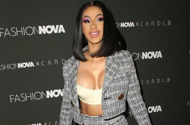 Cardi B, Fashion Nova x Cardi B Collaboration Launch Event, held at Boulevard3.