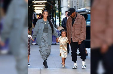 Kany West, Kim Kardashian, North West