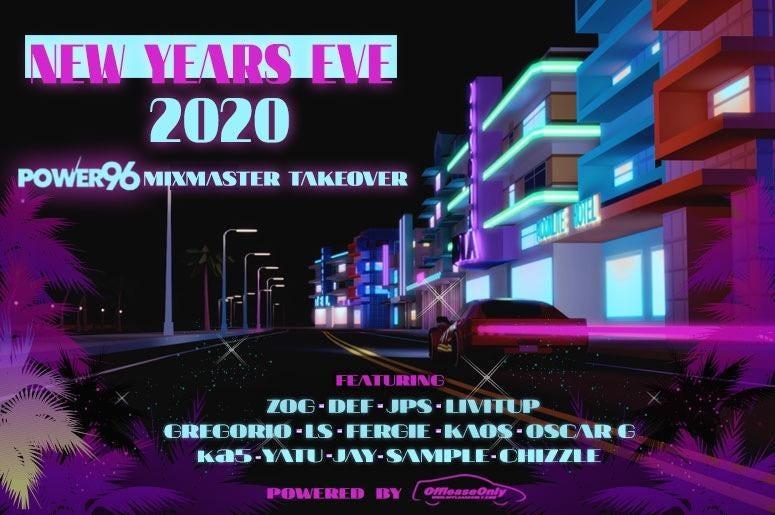 NYE 2020 Mixmaster Takeover