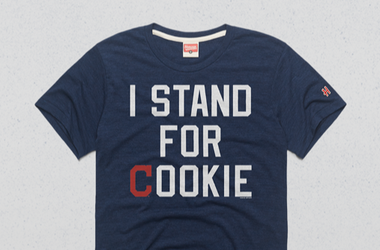 Carlos Carrasco I stand with cookie t-shirt from HOMAGE