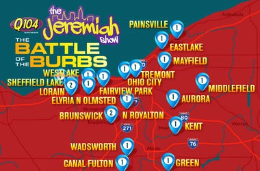 Battle Of The Burbs Map