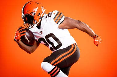 new Cleveland Browns uniforms