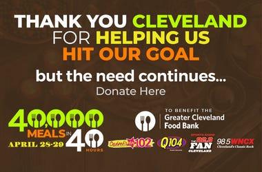 40K meals goal hit