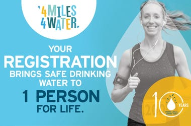 4 miles for water