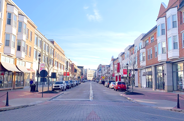 Main Street at Crocker Park in Westlake, Ohio