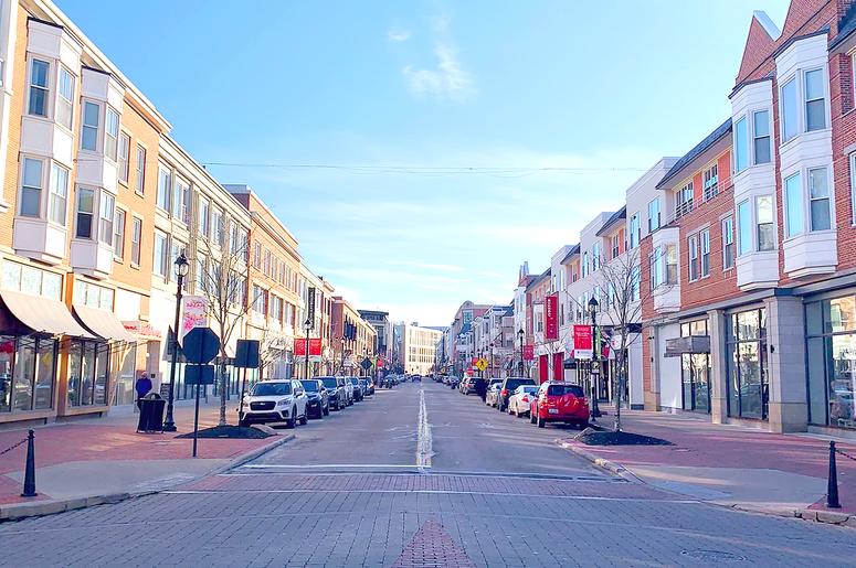 Main Street at Crocker Park in Westlake, Ohio