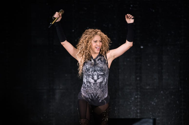 NEW YORK, NY - AUGUST 10: Shakira performs in concert at Madison Square Garden on August 10, 2018 in New York City. (Photo by Noam Galai/Getty Images)