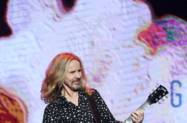 LAS VEGAS, NEVADA - JANUARY 20: Recording artist Tommy Shaw of Styx performs during a two-act concert at The Pearl concert theater at Palms Casino Resort on January 20, 2019 in Las Vegas, Nevada. (Photo by Ethan Miller/Getty Images)