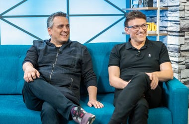 STUDIO CITY, CALIFORNIA - APRIL 23: Directors Joe Russo and Anthony Russo on the set of 'The IMDb Show' on April 23, 2019 in Studio City, California. This episode of 'The IMDb Show' airs on April 29, 2019. (Photo by Rich Polk/Getty Images for IMDb)