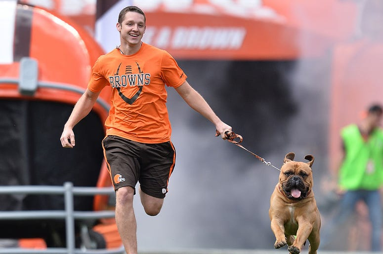 Browns mascot swagger RIP