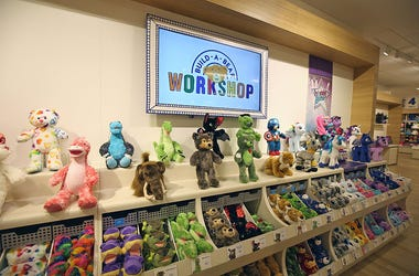 BLOOMINGTON, MN - SEPTEMBER 1: Build-A-Bear Workshop celebrated the launch of its new store format today at a grand opening ceremony at Mall of America in Bloomington, Minnesota on September 1, 2015. The new store was designed to make Build-A-Bear Worksho