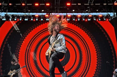 INDIO, CA - APRIL 23: Musician Trevor Terndrup of Moon Taxi performs onstage during day 2 of the 2016 Coachella Valley Music & Arts Festival Weekend 2 at the Empire Polo Club on April 23, 2016 in Indio, California. (Photo by Kevin Winter/Getty Images for