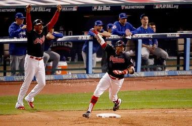 Rajai Davis hits game tying home run in World Series Game 7