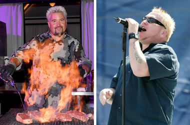 Guy Fieri and Steve Harwell