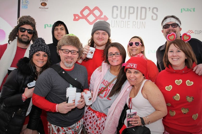 Cupid's Undie Run 2020