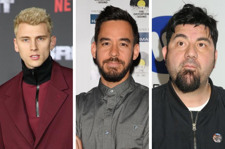Machine Gun Kelly, Mike Shinoda, Chino Moreno