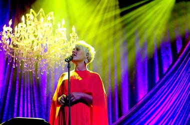 Honoree P!nk performs onstage during the 63rd Annual BMI Pop Awards