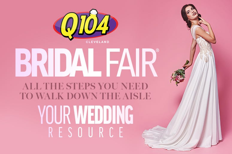 Q104 virtual bridal fair