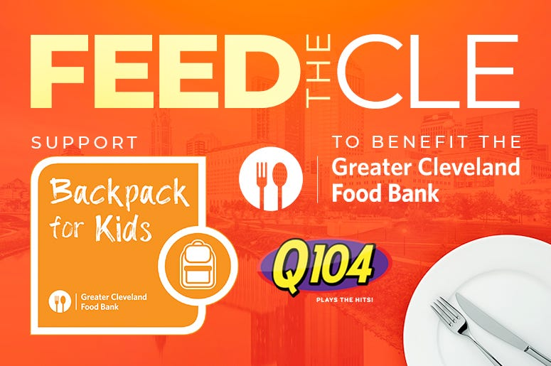 Feed the CLE supports BackPack for Kids through the Greater Cleveland Food Bank
