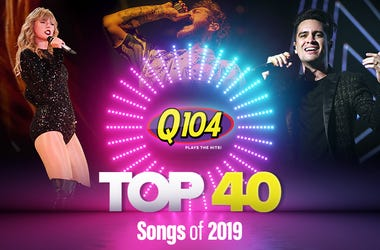 Top 40 songs in Cleveland 2019